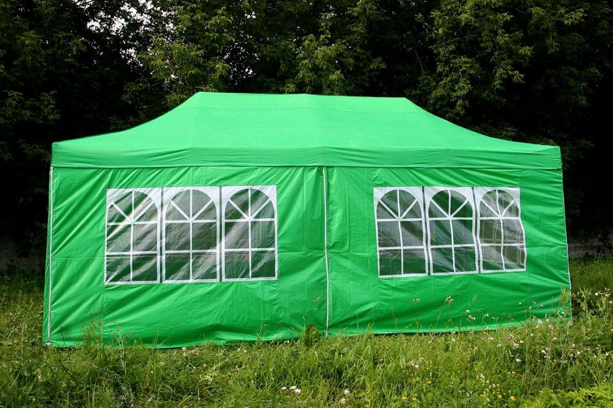 Тент Торг-Хаус (шатер), green DP-0306-G
