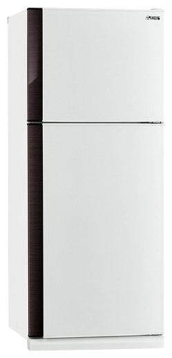 Mitsubishi MR-FR51H-SWH-R - (холодильник с морозильником, 405 л (клим.класс SN, T), отдельно стоящий, компрессоров 1, камер 2, дверей 2. Хол-ник 304 л (разм. No Frost). Мор-ник 101 л, сверху (разм. No Frost). ШГВ 70.9x68.6x180.4 см. Управление электромеханическое. Энергопотр-е 562 кВтч/год. белый / пластик/металл)