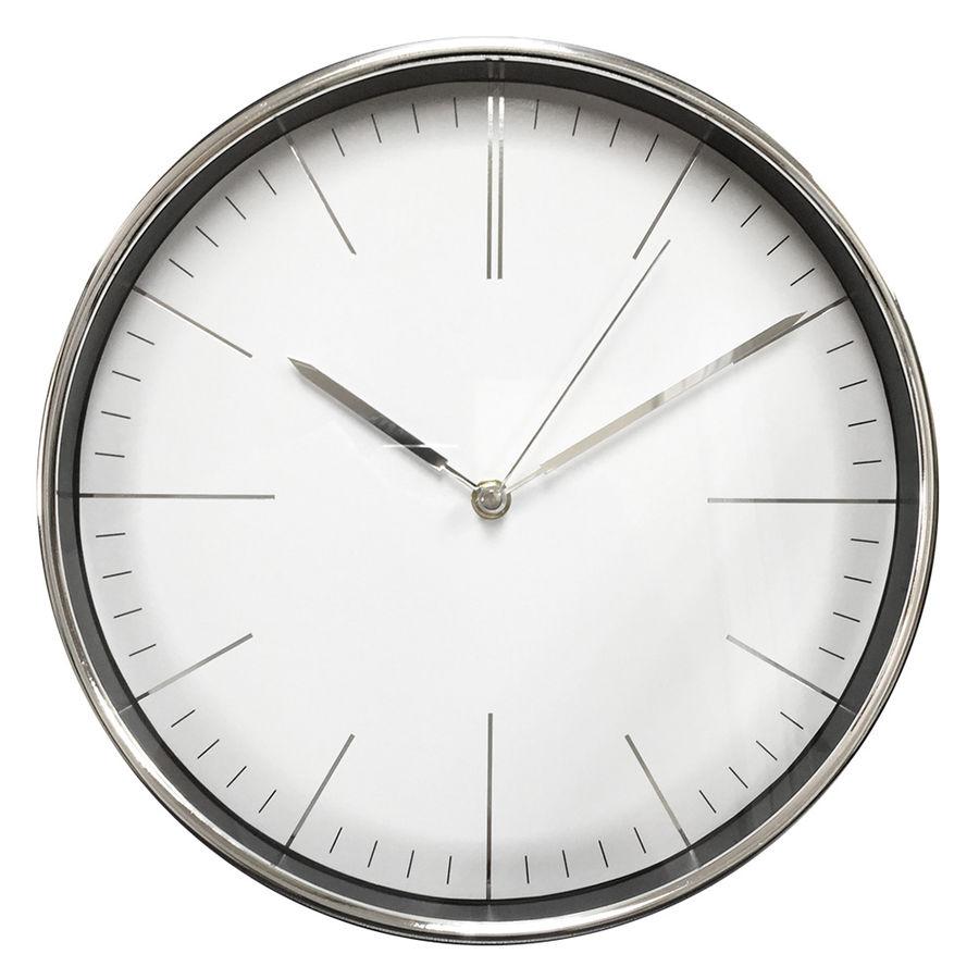 Часы настенные Бюрократ WallC-R28P, chrome WALLC-R28P/CHROME