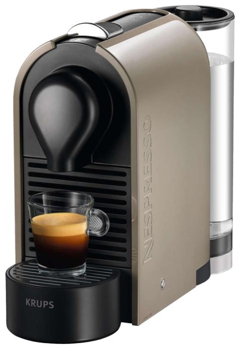 Krups XN 250A10 Nespresso - эспрессо, автоматическое приготовление; кофе - капсулы; резервуар 0.8 л; макс.давление 19 бар; групп -