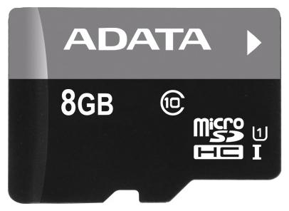 Карта памяти Adata Premier microSDHC Class 10 UHS-I U1 8GB