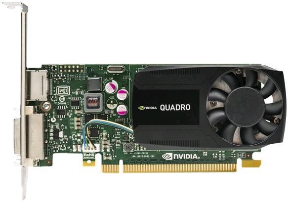 ���������� Dell Quadro K620 PCI-E 2.0 2048Mb 128 bit DVI + DP 490-BCGC