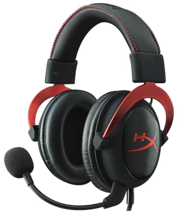 Гарнитура Kingston HyperX Cloud II, Black red