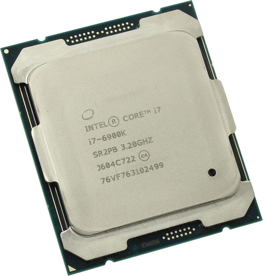 Процессор Intel Core i7-6900K Broadwell-E (3200MHz, LGA2011-3, L3 20480Kb), OEM CM8067102056010