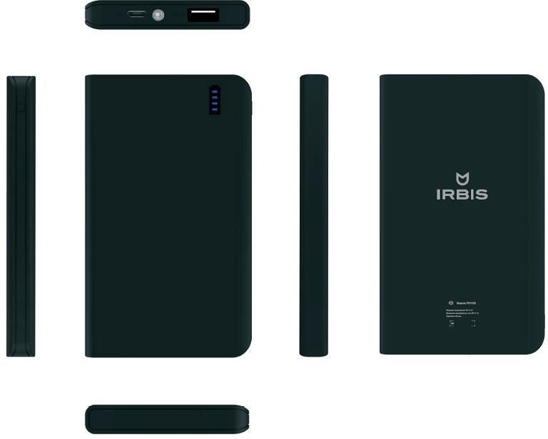 Аккумуляторная батарея Irbis PB1C20 8000mAh black