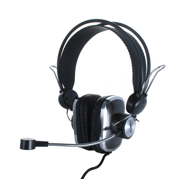 Sven AP-600 - (Наушники: 18 - 22000 Гц; 32 Ом; мониторные; 40 мм. • Микрофон: есть; 30 - 16000 Гц. • Подключение: 2.2 м; 2x mini jack 3.5 mm.)