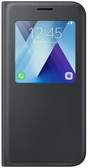 Чехол-книжка Samsung для Samsung Galaxy A5 (2017) S View Standing Cover, black