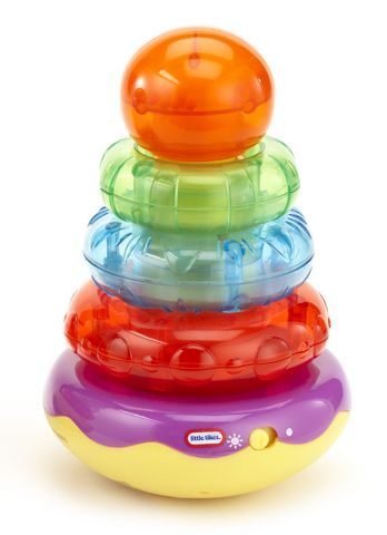 Развивающая игрушка Little Tikes Пирамидка, звук. эф-ты