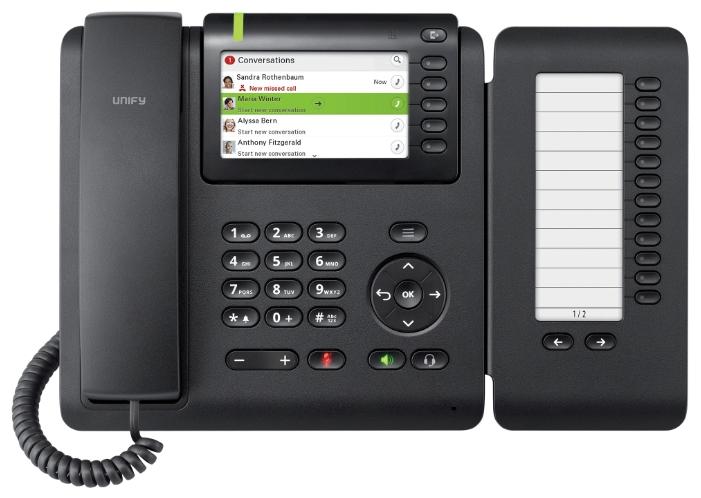 VoIP-телефон Siemens OpenScape CP600, LAN, Gigabit LAN, есть определитель номера L30250-F600-C428