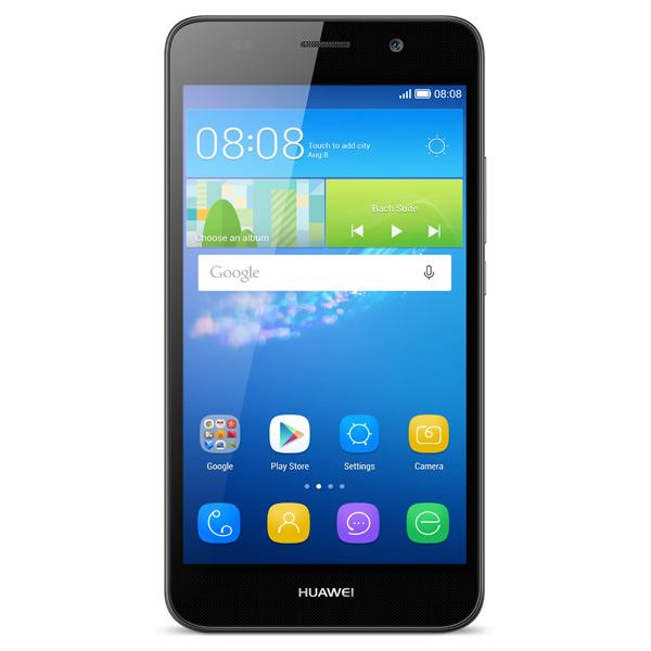 Huawei Ascend Y6 SCL-U31 Black - (Android 5.1; GSM 900/1800/1900, 3G; SIM-карт 2; Qualcomm Snapdragon 210 MSM8909, 1100 МГц; RAM 1 Гб; ROM 8 Гб; 2200 мАч; 8 млн пикс., светодиодная вспышка; есть, 2 млн пикс.)
