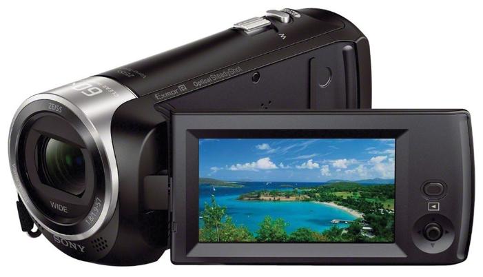 """Sony HDR-CX405, black - (ЖК-экран: есть (2.7"""", 230400 пикс.). Общее число пикселей: 2.29 Мпикс)"""
