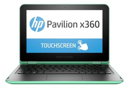 HP PAVILION 11-k101ur x360 (P0T64EA), Green - (Pentium N3700 1600 МГц. Экран 11.6 дюймов, 1366x768, широкоформатный, сенсорный, мультитач TFT IPS. ОЗУ 4 Гб DDR3L. Накопители HDD 1000 Гб; DVD нет. GPU Intel GMA HD. ОС)