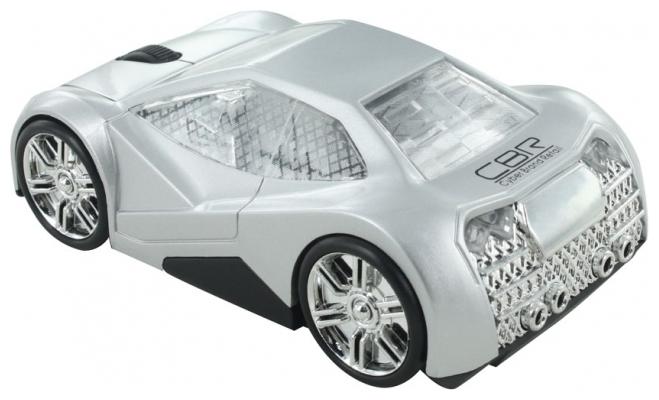 CBR MF 500 Elegance Silver USB - оптическая светодиодная; кнопок 3; 1000 dpi; беспроводная связь есть; радиоканал; USB • 70 г. 119x60x38