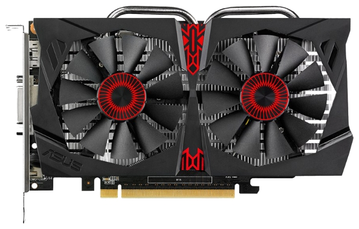 ASUS GeForce GTX 750 Ti (2Gbi GDDR5, DVI-I + HDMI + DP) - NVIDIA GeForce GTX 750 Ti, 28 нм, 1020 МГц, 2048 Мб GDDR5@5400 МГц 128 бит,