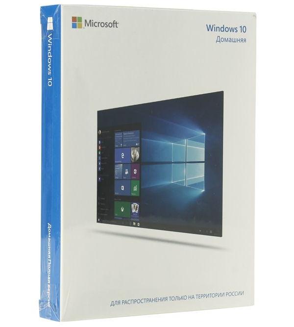 ОС Microsoft Windows 10 Home (USB, только для России) KW9-00253