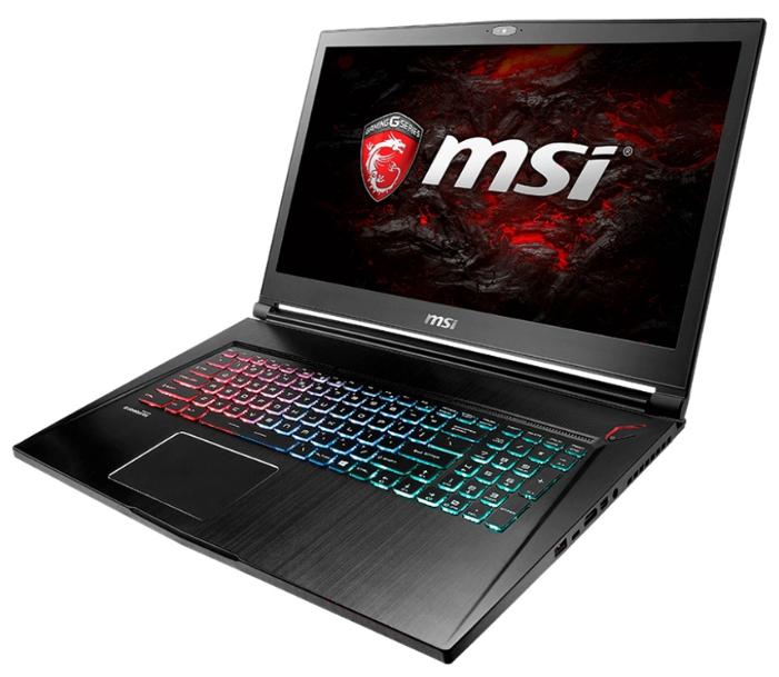 MSI GS73VR 6RF Stealth Pro (9S7-17B112-037) - (Intel Core i7 6700HQ 2600 МГц. Экран 17.3 дюймов, 1920x1080, широкоформатный TFT IPS. ОЗУ 16 Гб DDR4. Накопители HDD+SSD 2128 Гб; DVD нет. GPU NVIDIA GeForce GTX 1060. ОС Win 10 Home)