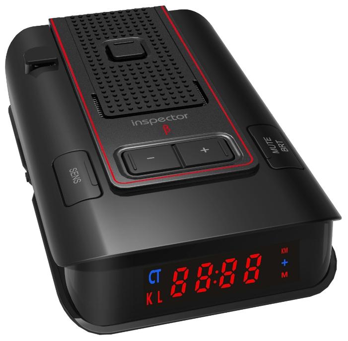 Inspector RD X3 Beta GPS - (POP, Instant-On, режим Город: есть, количество уровней - 3, режим Трасса: есть, отображение информации: светодиодный дисплей)