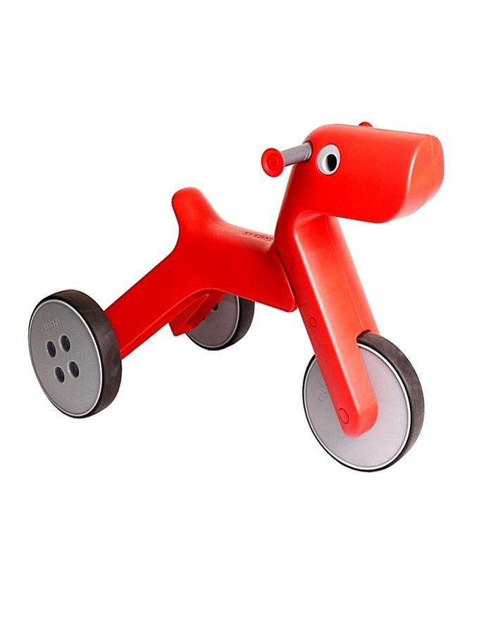 Yetitoy Велобалансир-каталка Красный - с полутора до четырех лет; макс. нагрузка 30 кг; материал корпуса Велобалансир сделан из новейшей