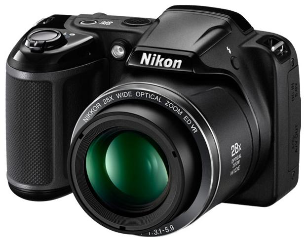 Nikon Coolpix L340 - (20.48 млн, оптический zoom: 28x, 1280x720, 460000 точек, 3 дюйма)