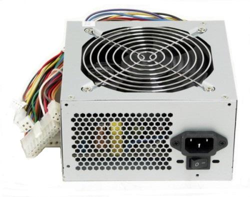 LinkWorld LW6-400W 12см - 400 Вт, 1 вентилятор (120 мм), PFC нет, линия +12В(1) - 18 A • Molex: 3 / SATA: 3 / CPU 4pin: 1 / Floppy