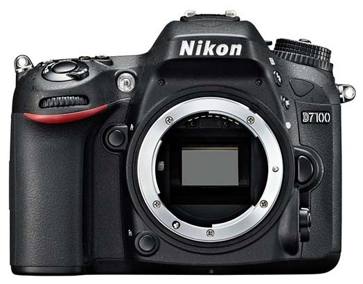 Фотоаппарат Nikon D7100 Body, black VBA360AE