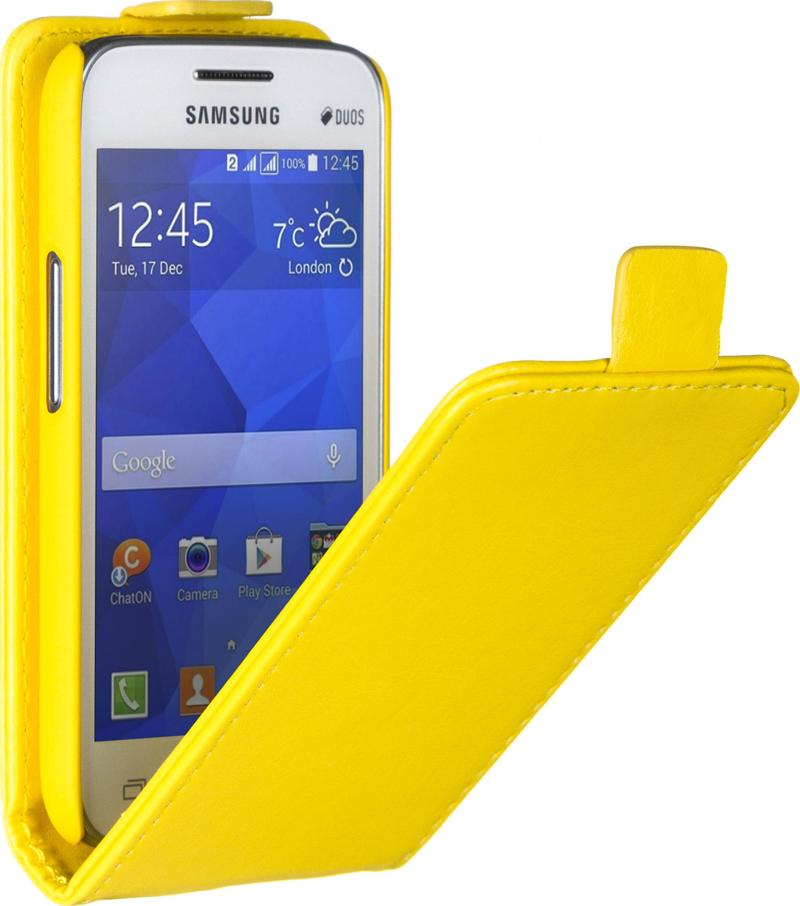 ����� SkinBox ��� Samsung G313/318 Galaxy ace 4 Yellow
