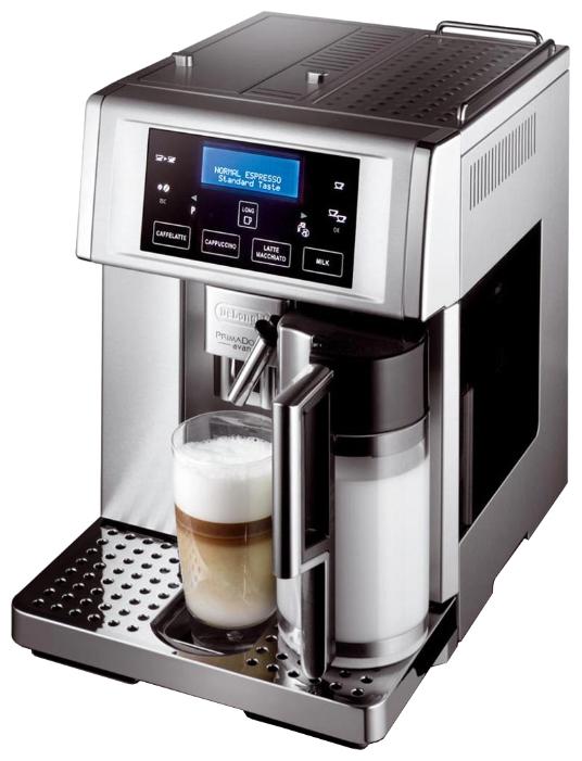 DELONGHI ESAM 6704 - эспрессо, автоматическое приготовление; кофе - молотый / зерновой; групп 1 • 15 бар; термоблок; 1350 Вт; резервуар