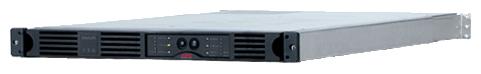 APC Smart-UPS 750VA USB RM 1U 230V - интерактивный; 750 ВА / 480 Вт; в среднем 23.6 мин; вход 151 - 302 В; розеток 4 (из них с питанием