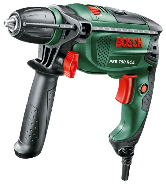 Дрель Bosch PSB 750 RCE [0.603.128.520] 0603128520