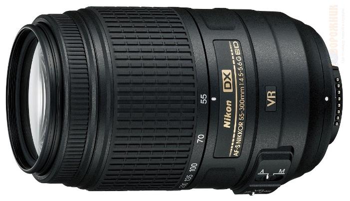������������ Nikon 55-300 mm f/4.5-5.6G ED DX VR AF-S Nikkor JAA814DA