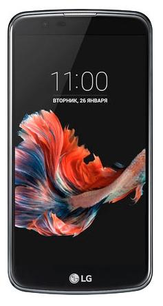 LG K10 K410, Blue - (; GSM 900/1800/1900, 3G; SIM-карт 2; 1300 МГц; RAM 1 Гб; ROM 16 Гб; 2300 мА?ч; 8 млн пикс., светодиодная вспышка; есть, 5 млн пикс.)