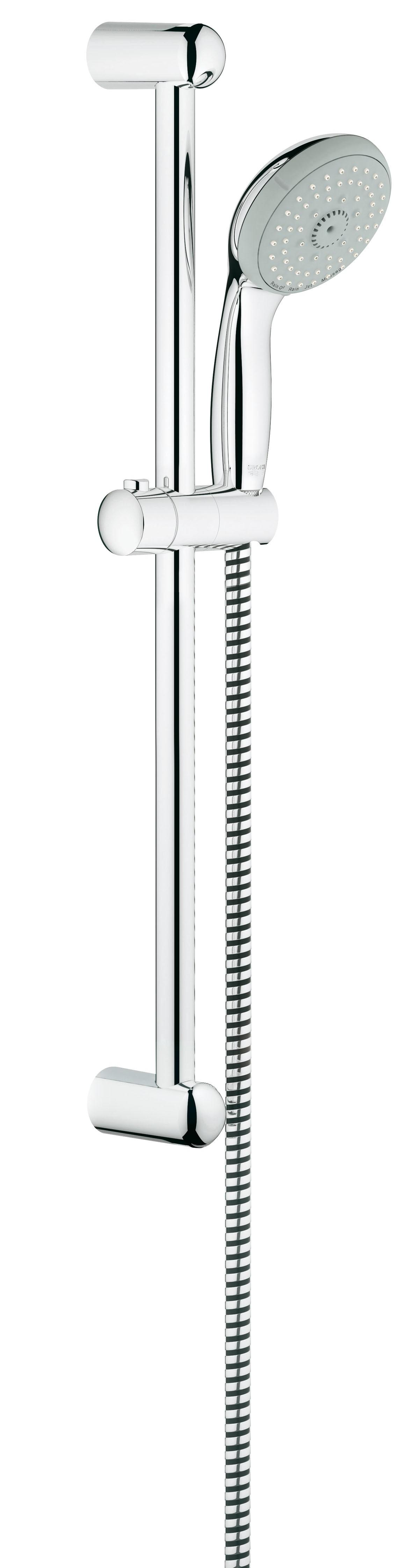Grohe 27795000 Tempesta Classic (ручной душ, штанга 600 мм, шланг 1750 мм), хром
