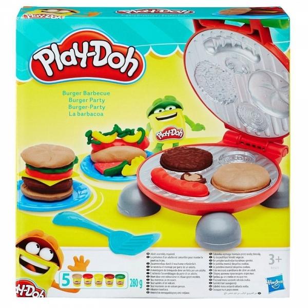 Hasbro Play-Doh Бургер гриль