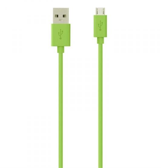 ������ Belkin microUSB, green UPG1043658