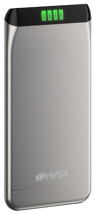 Аккумуляторная батарея Hiper SLS6300 (6300 мАч), Silver