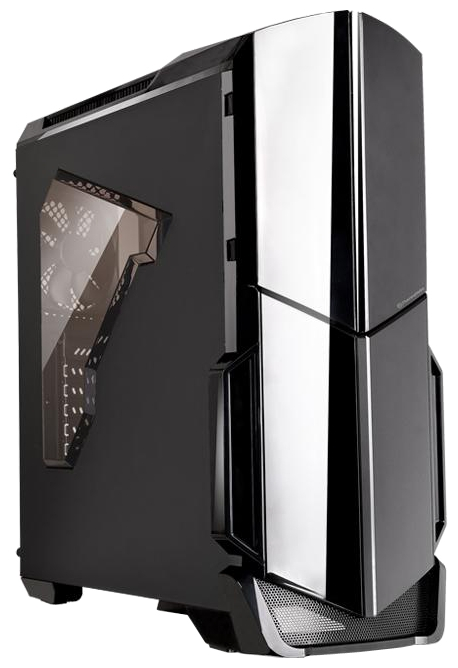 Корпус для компьютера Thermaltake Versa N21 CA-1D9-00M1WN-00, Black