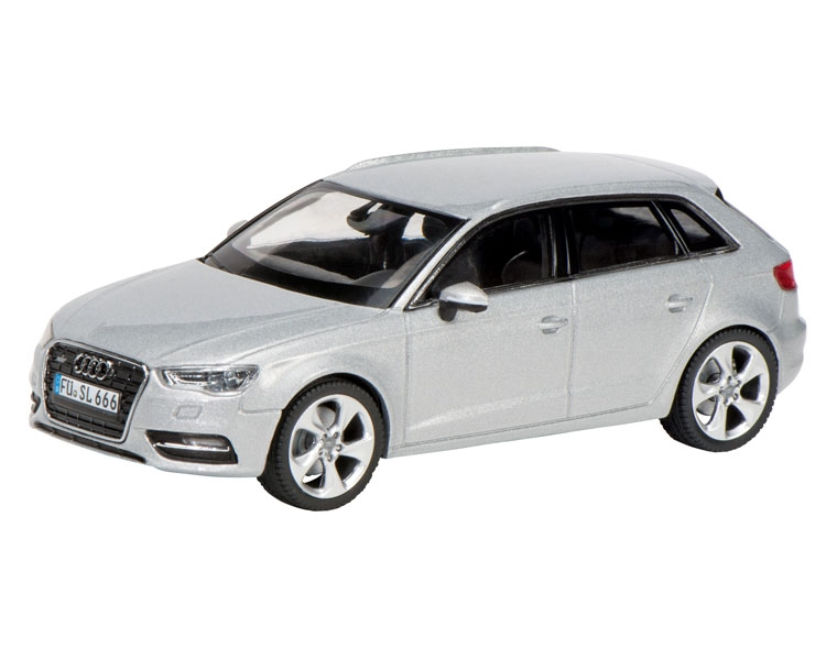 Машинка Schuco Audi A3 Sportback, silver