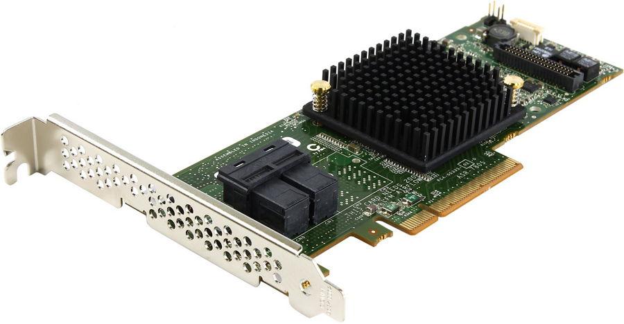 Adaptec ASR-7805 SG (OEM) - SAS / SATA RAID-контроллер (RAID 0, 1, 10, 1e, 5, 50, 6, 60, JBOD, Hybrid RAID); PCI-Express 8x rev.3.0