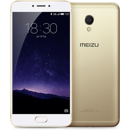 Meizu MX6 4/32GB Gold - (; GSM 900/1800/1900, 3G, 4G LTE, LTE-A Cat. 6; SIM-карт 2 (nano SIM); MediaTek Helio X20 (MT6797); RAM 4 Гб; ROM 32 Гб; 3060 мАч; 12 млн пикс., светодиодная вспышка; есть, 5 млн пикс.; датчики - освещенности, Холла, гироскоп, компас, барометр, считывание отпечатка пальца)