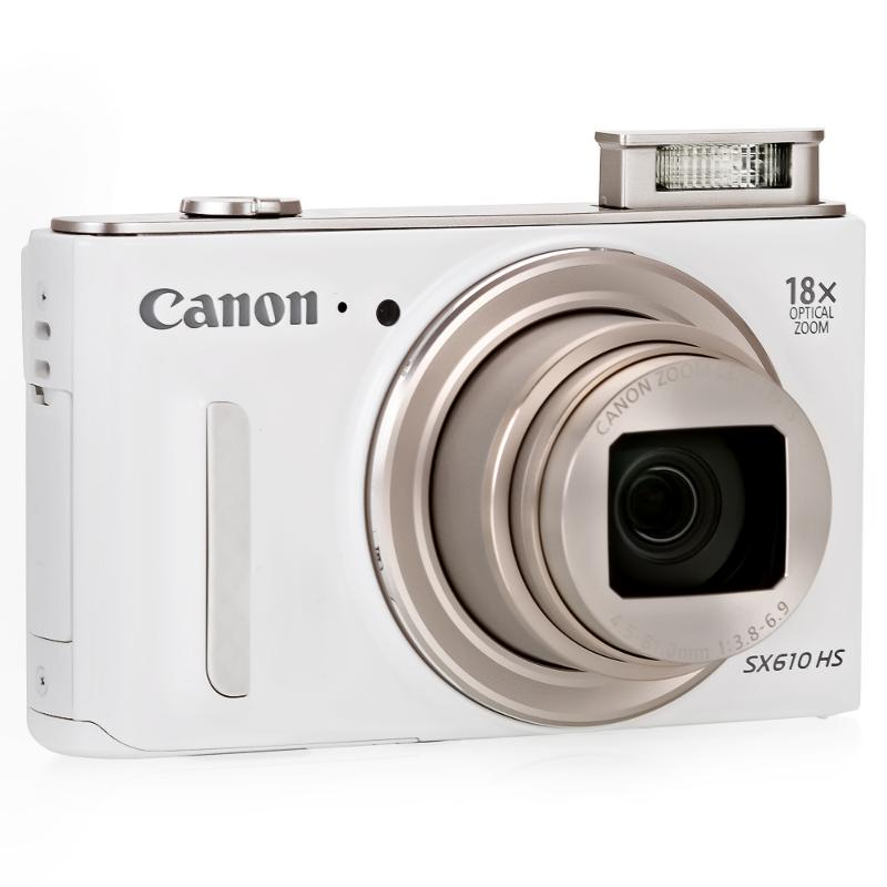 Фотоаппарат Canon PowerShot SX610HS White 0112C002