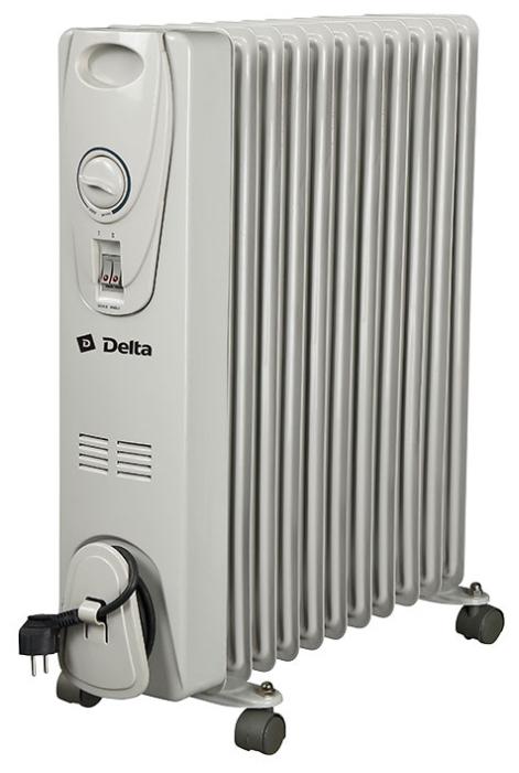 Радиатор масляный Delta D25-11 К41500