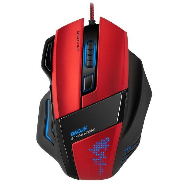 Мышь SPEEDLINK DECUS Gaming Mouse Black USB SL-6397-BK