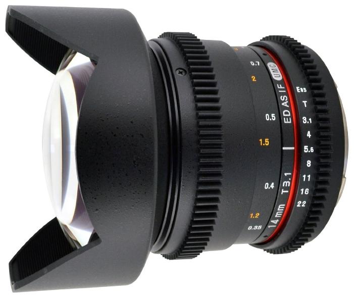 Фотообъектив Samyang 14mm T3.1 ED AS IF UMC VDSLR Sony E