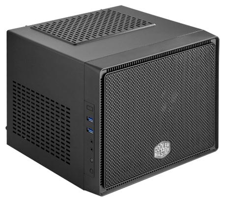 Cooler Master Elite 110 (RC-110-KKN2) Black - (Mini-ITX, блок питания: нет, разъемы: USB 3.0 x2, наушники, микрофон)