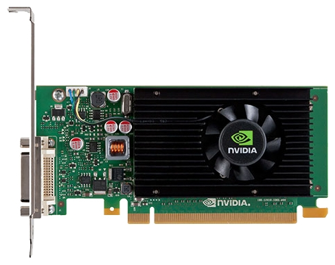 PNY Quadro NVS 315 (1Gb GDDR3, DMS-59 - 2xDVI/VGA) - NVIDIA Quadro NVS 315, 40 нм, 1024 Мб GDDR3 64 бит, TDP 20 Вт • Разъёмы:, 2x DVI-I