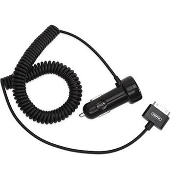 Зарядное устройство автомобильное Griffin GC23056 Black для iPhone 4/4s