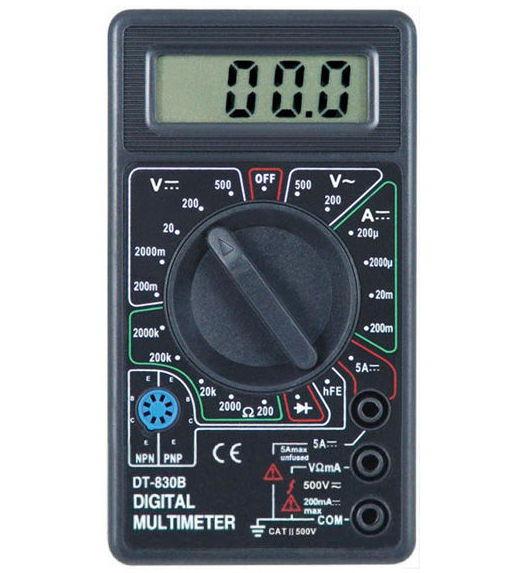 PROconnect M838 (DT838) - Мультиметр цифровой; бытовой; для применения в слаботочных цепях 13-3013
