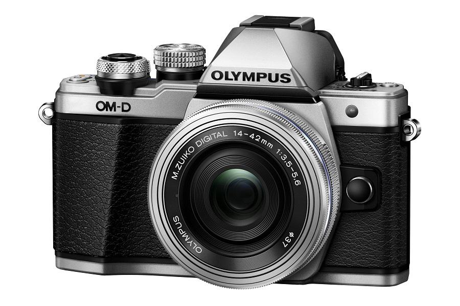 Olympus OM-D E-M10 Mark II Kit EZ-M1442 II R, silver - (17.2 млн, 1920x1080, 8.5 кадр./сек, ЖК-экран: поворотный, сенсорный, 1037000 точек, 3 дюйма)