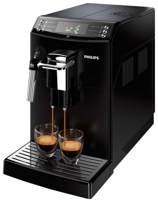 Philips Series 4000 HD8842/09 - эспрессо, автоматическое приготовление; кофе - молотый / зерновой; нагреватель - бойлер; резервуар
