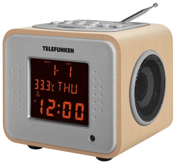 �������������� TELEFUNKEN TF-1625U, Light Wood/Orange